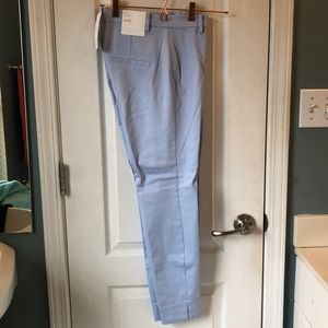 Light blue H&M trousers.